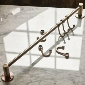 Rowen & Wren Bitra Hook Rail in Antique Brass, RRP £72.00! Current Season, BNIB
