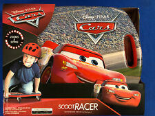 Disney Pixar Cars Lightning McQueen Scoot Racer Caster Board Zooms Spins * New