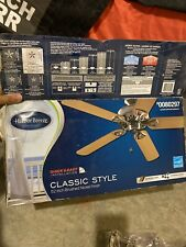 Harbor Breeze 41391 Armitage 52in. Indoor 5 Blade LED Ceiling Fan - Brushed...