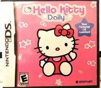 NINTENDO DS NDS GAME HELLO KITTY DAILY BRAND