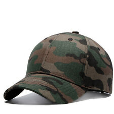 Unisex Men's Camouflage Baseball Cap Cotton Outdoor Sports Sun Hat Strapback