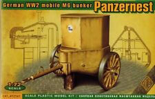 ACE 72561 - German WW2 mobile MG Bunker Panzernest - 1:72