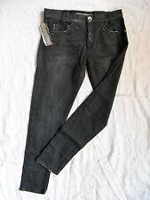 Miss Sixty Jeans W32/L30 Black Denim Stretch boyfriend loose fit medium waist