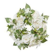 Pflanzen Deko L 38 cm Edelweiß 3 Blüten künstliche Blumen Floristik