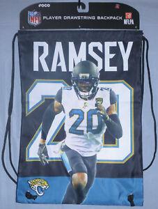 Jacksonville Jaguars NFL Football Jalen Ramsey Player Drawstring Backpack RAMS
