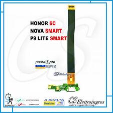 HUAWEI NOVA SMART HONOR 6C FLAT FLEX DOCK CONNETTORE DI RICARICA USB  Microfono