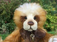 More details for charlie bears zsa zsa limited edition of 220 numbered 133 mohair/alpaca