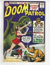 Doom Patrol #100/Silver Age DC Comic Book/2nd App & Origin of Beast Boy/FN