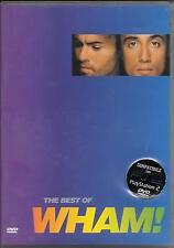 """WHAM - RARO DVD """" THE BEST OF WHAM """""""