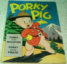 Porky Pig Four-Color 48, FN/VF (7.0) 1947 Carl Barks art!