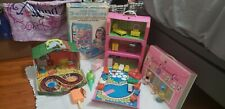 Liddle Kiddle snap furniture, house and doll Lot