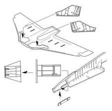 CMK 1/32 BAE Hawk t.1a carrello baie # 5077