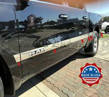 fits 2019-2020 Dodge Ram Crew Cab 5.7' Short Bed Rocker Panel Trim Side Molding