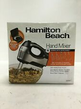 Hamilton Beach Hand Mixer 6 Speed  with Storage Case 62647 Stainless Steel