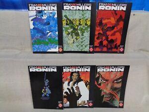 Ronin 1-6 COMPLETE SET! Frank Miller! Lynn Varley! 1983 DC Comics (b 22356)