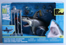 Animal Planet Extreme Shark Adventure With Diver Figure HAMMERHEAD and WHALE