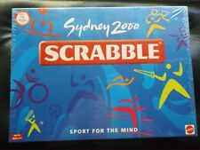 "NEW UNOPENED ""SYDNEY 2000"" SCRABBLE BOARD GAME- SPORT FOR THE MIND - I WILL POST"