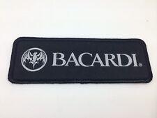 BACARDI Parche - negro - 12,5x4,5 cm Parche Aufbügler