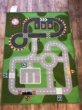 IKEA Lillabo Childrens Play Rug/ Mat Road/ Street/ Racetrack/ Car Park/ Helipad
