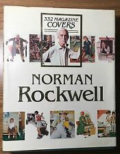NORMAN ROCKWELL 332 Magazine Covers Beautiful Big Colorful Book wDJ Finch 1979 !