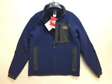 The North Face Men's Apex Chromium Thermal Softshell Jacket TNF Blue NEW SMALL