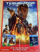 Schwarzenegger TERMINATOR GENISYS original Madiatheken Plakat A1