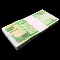 Bundle Lot 100 PCS, Ethiopia 10 Birr, 2020, P-New, Banknotes, UNC