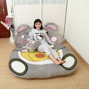 2020 Creative Lazy Bed Cartoon Tatami Mattress Cute Bedroom Floor Mat Home