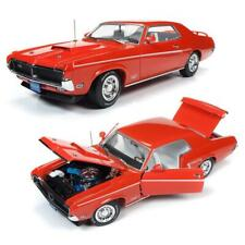 AUTOWORLD AMM1183 1969 MERCURY COUGAR ELIMINATOR DIECAST MODEL CAR 1:18