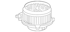 Genuine Toyota Blower Motor 87103-04050