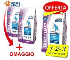 Monge Gemon Medium Adult tonno e riso 15 kg - 1 / 2 / 3 sacchi Crocchette x cane