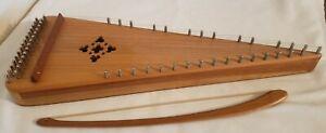 Used Unicorn Strings Bowed Psaltery 30 Metal Strings Dulcimer / Harp