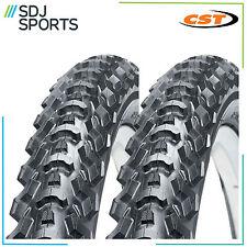 "2x CST EIGER 26"" X 1.95 ATB MTB 26 INCH MOUNTAIN BIKE CYCLE TIRES (1 PAIR)"