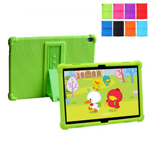 Silicone Tablet Case Cover For Lenovo Tab E10 TB-X104F/L 10.1'' Shockproof Stand