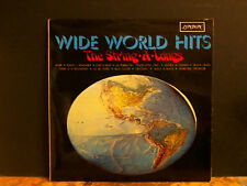 STRING-A-LONGS  Wide World Hits   LP  1968  Easy Instrumental    Lovely copy!
