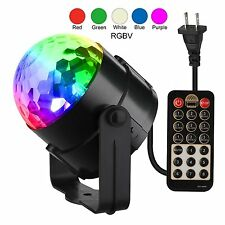 Disco Ball Party Lights LED Strobe Dance DJ Magic Stage Sound Activated