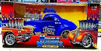 MUSCLE MACHINES '41 WILLYS COUPE BLUE RAT KILLER 1/18 SCALE UNOPENED SEALED RARE