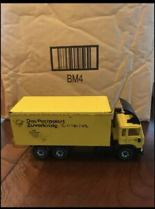 VERY RARE  VOLVO F12 Turbo DIECAST DELIVERY TRUCK MADE IN WEST GERMAN