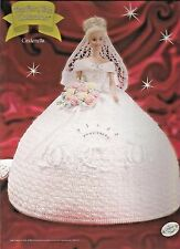 Cinderella FAIRY TALE Collection Annies Attic Fashion Doll Crochet Pattern