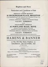 Brighton. Hove. 32 Buckingham Place - 45 Portland Road. 1967    zn.46