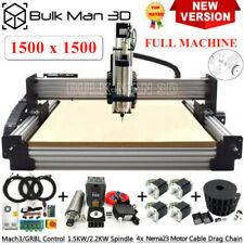 Newest 1515 WorkBee CNC Router Machine Full Kit  4Axis CNC Engraver Complete Kit