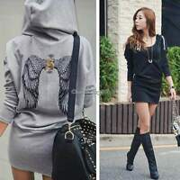 PLUS SIZE Women Ladies Long Sweater Pullover Top Hoody Sweatshirt Jumper Coats