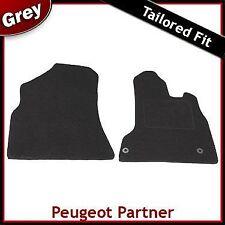 PEUGEOT Partner su misura moquette tappetini GRIGIO (2008 2009 2010 2011 2012...)