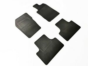 Rugged Rubber Floor Mats for Jeep Grand Cherokee WK 2011-21 OEM shape