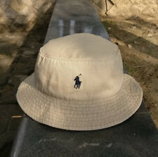 Polo ralph Lauren Bucket Hat Khaki Authentic US SELLER  (BRAND NEW IN PACKAGE)