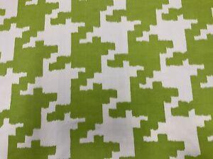 Manuel Canovas Lina Absinth 4790/03 Geometric Fabric By The Metre