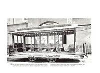 Jefferson Avenue Railway St Louis Tramvia de Reducto Trolley Book plate print