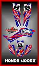 Honda TRX400EX 400EX ATV SEMI CUSTOM GRAPHICS KIT STRIKER