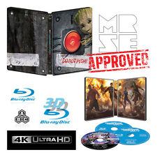 Guardians of the Galaxy Vol 2 Steelbook 4K/3D/2D Blu-ray Region Free Pre Order