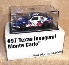 Hamilton/Revell-Monogram Diecast 1:24 Scale #97 Texas Inaugural 1997 Monte Carlo
